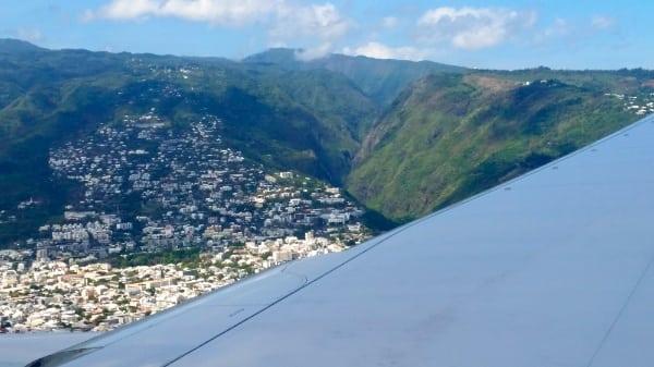 Reunion Island terrain