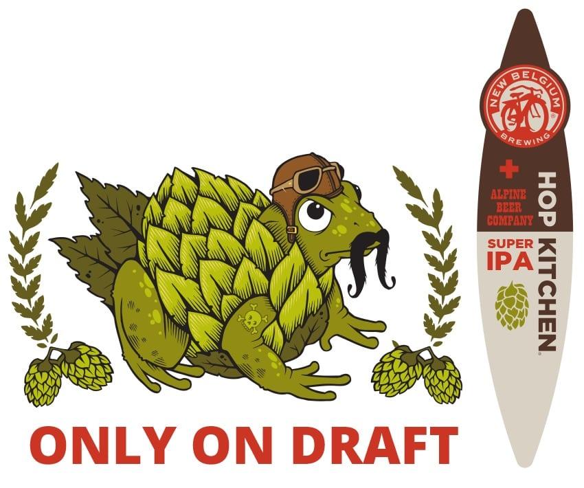 New Belgium Alpine Beer Company Hop Kitchen Super IPA
