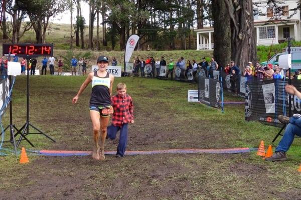 Magda Boulet - 2014 TNF EC 50 - finish