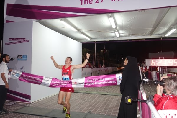 Max King - 2014 IAU 100k World Champion