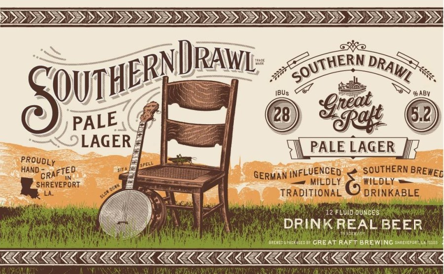 Great Raft Brewing Southern Drawl American Pale Lager