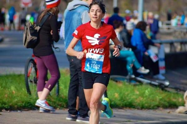 Liza Howard at 2015 Houston Marathon