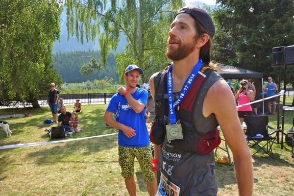 Michael Wardian 2014 Squamish 50k