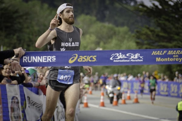 Michael Wardian 2014 Big Sur Marathon