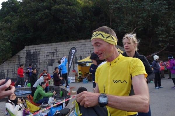 Antoine Guillon, 2015 Vibram Hong Kong 100k third place