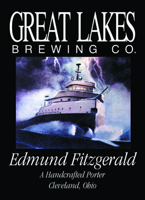 Great Lakes Brewing Company Edmund Fitzgerald Porter