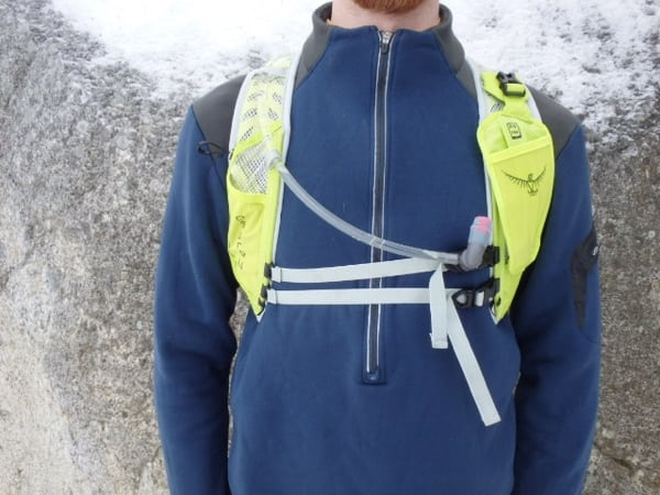 Osprey Rev 6 front straps view