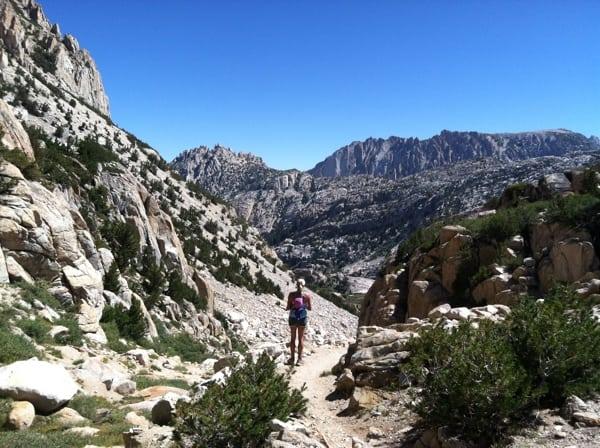 Trail runner Hoover Wilderness