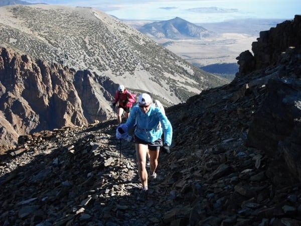 Ansel Adams Wilderness trekking poles trail runners
