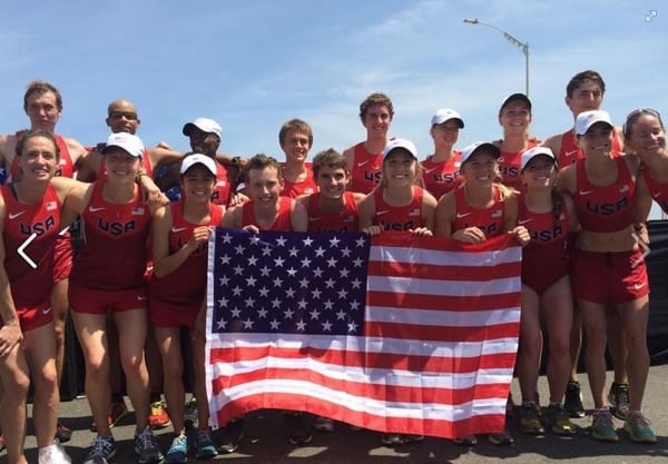 The U.S. team for the 2015 APA Pan-American Cross Country Cup