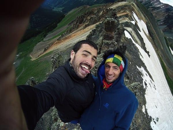 Jordi-Saragossa-and-Kilian-Jornet-2015-Hardrock-course-photo-1