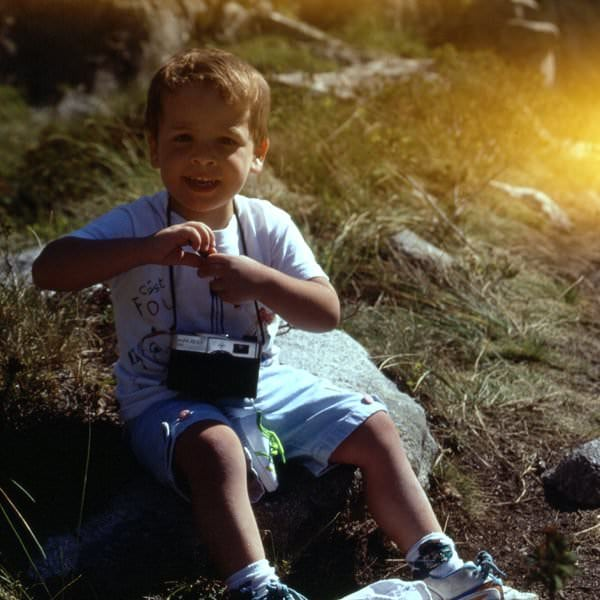 Jordi Saragossa as a child - photo 2