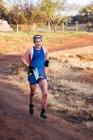 Ford Smith running hard