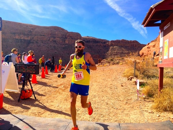Rob Krar - 2015 Moab Red Hot 55k second place
