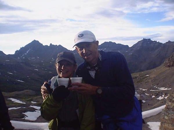 Steve and Deb, Virginius Pass engagement, photo 5