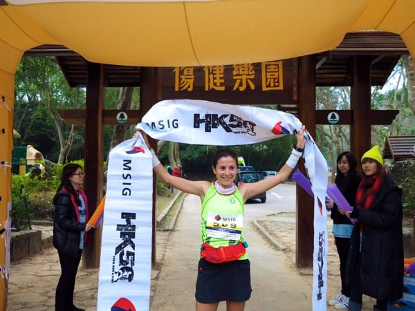 Elisa Desco - 2015 MSIG Sai Kung 28k champion - 2015 Asia Skyrunning Continental Championships champion