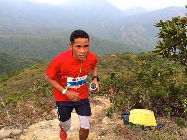 Samir Tamang - 2015 MSIG Sai Kung 50k champion - 2015 Asian Skyrunning Continental Championships champion