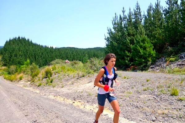 Ruth Croft - 2015 Tarawera Ultramarathon second place