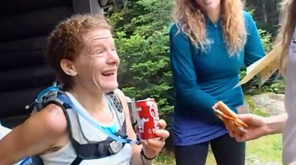 Nikki Kimball Long Trail Finding Traction Coke and crying scene