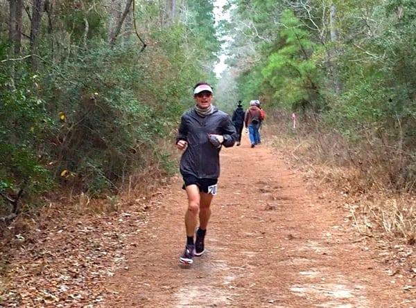 Ian Sharman 2015 Rocky Raccoon 100 Mile Champion