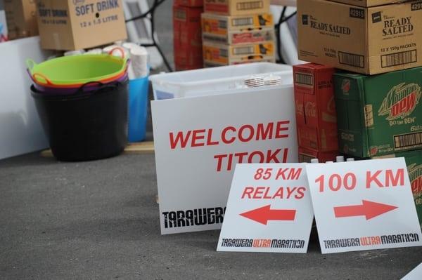 2015 Tarawera Ultramarathon supplies