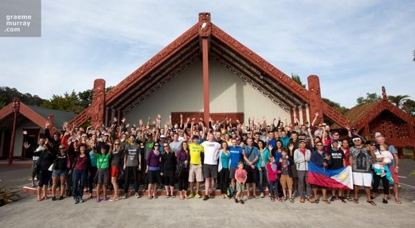 2014 Vibram Tarawera Ultramarathon pre-race festivities