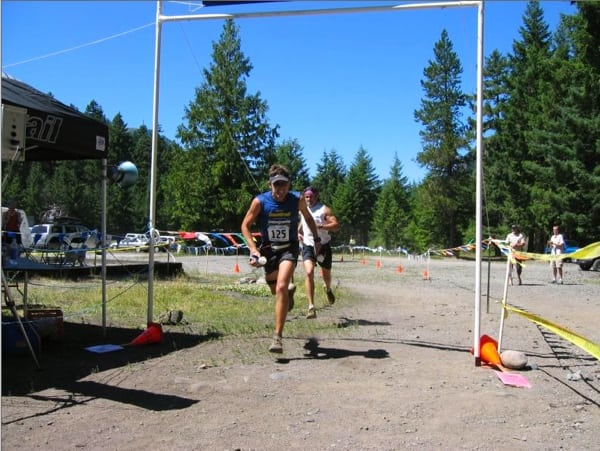 Ian Torrence 2005 White River 50 Mile Sprint Finish