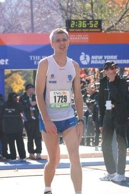 Jonas Buud - First New York City Marathon