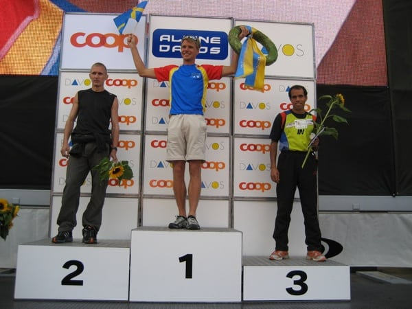Jonas Buud - First Swiss Alpine Marathon win