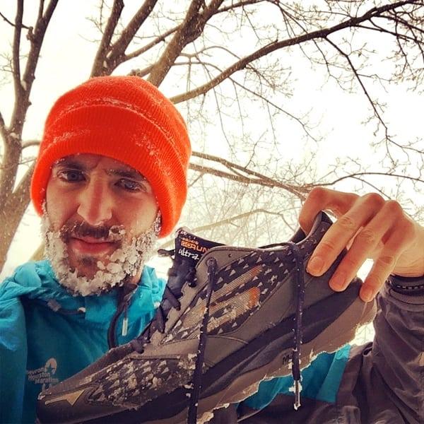 Zach Ornelas winter running