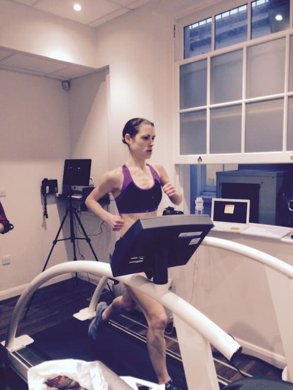 Gemma Carter - treadmill 50k world record