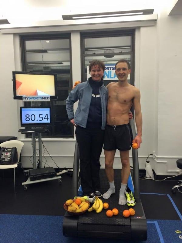 Denis Mikhaylove - treadmill 12 hour world record