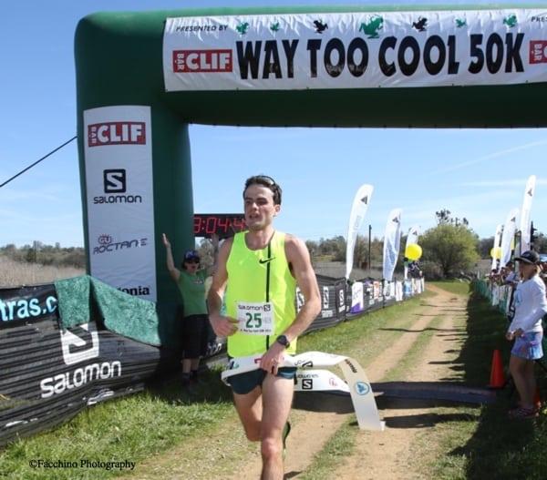 Patrick Smyth - 2015 Way Too Cool 50k champion