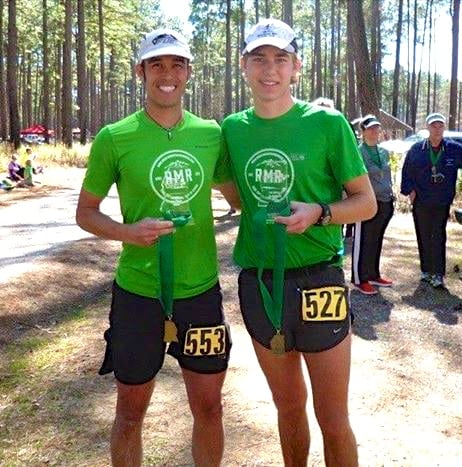 Eric Lee and Jack Daly - 2015 Mississippi 50 Mile