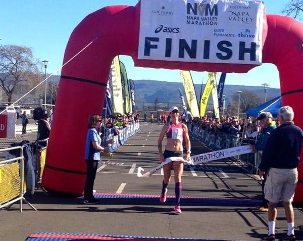 Devon Yanko - 2015 Napa Valley Marathon champion