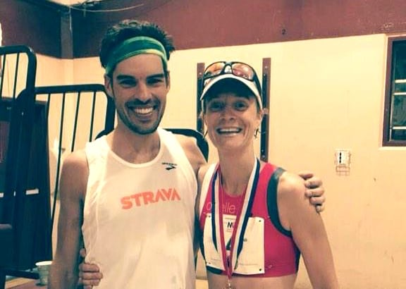 Chris Mocko and Devon Yanko, 2015 Napa Valley Marathon champions