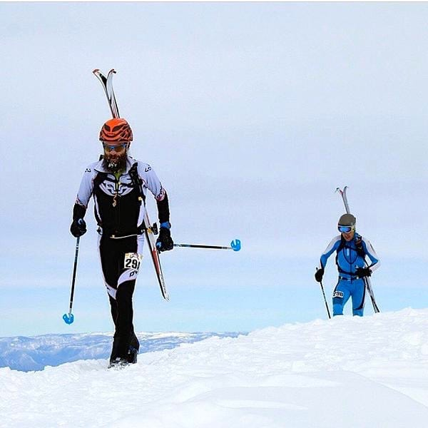 Rob Krar and Mike Foote - 2015 Power of Four Ski Mountaineering Race