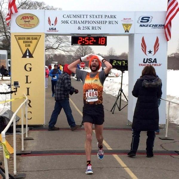 Zach Ornelas - 2015 USATF 50k Road National Champion