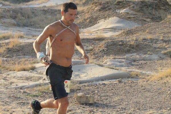 Dan Lawson - 2015 Run the Rann 161k champion