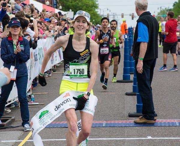 Camille Herron - 2015 Oklahoma City Memorial Marathon