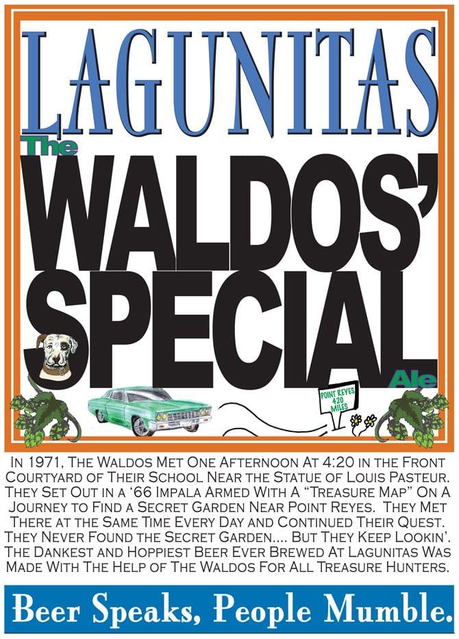 Lagunitas Brewing Company Waldos' Special Ale