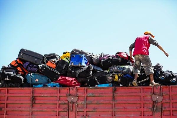 ©K.Kortebein-Luggage at check-in