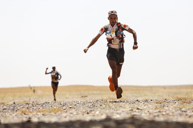 2015 Marathon des Sables - Stage 5 - Rachid El Morabity - Abdelkader El Mouaziz