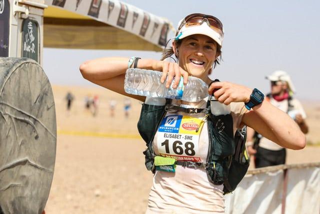 2015 Marathon des Sables - Stage 5 - Elisabet Barnes