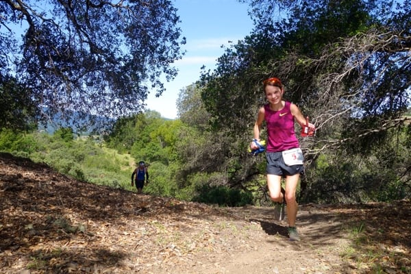 2015 Lake Sonoma 50 Mile - Kaci Lickteig