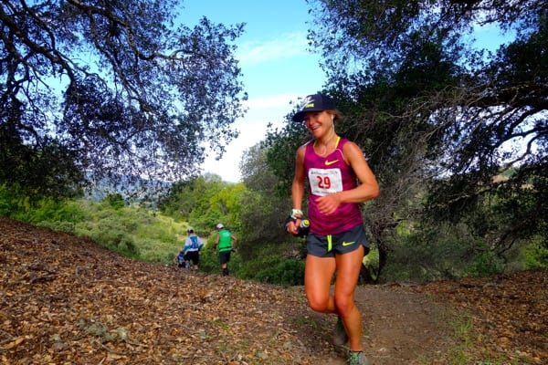2015 Lake Sonoma 50 Mile - Lindsay Tollefson