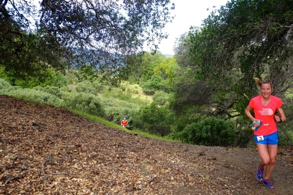 2015 Lake Sonoma 50 Mile - Stephanie Howe