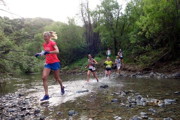 2015 Lake Sonoma 50 Mile - Womens Leaders