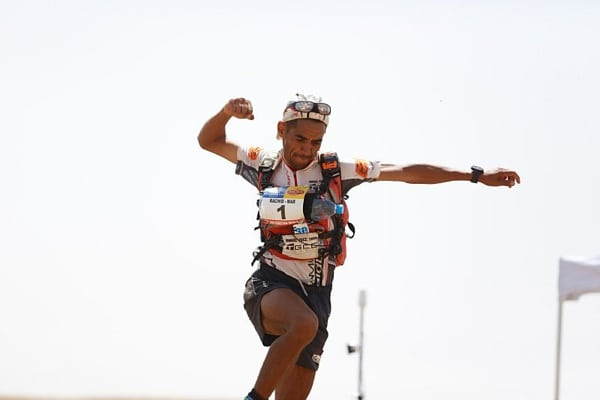 2015 Marathon des Sables - Stage 5 - Rachid El Morabity