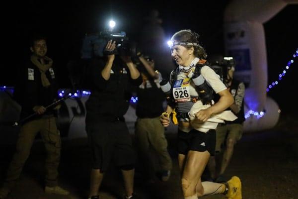 2015 Marathon des Sables - Stage 4 - Natalia Sedykh